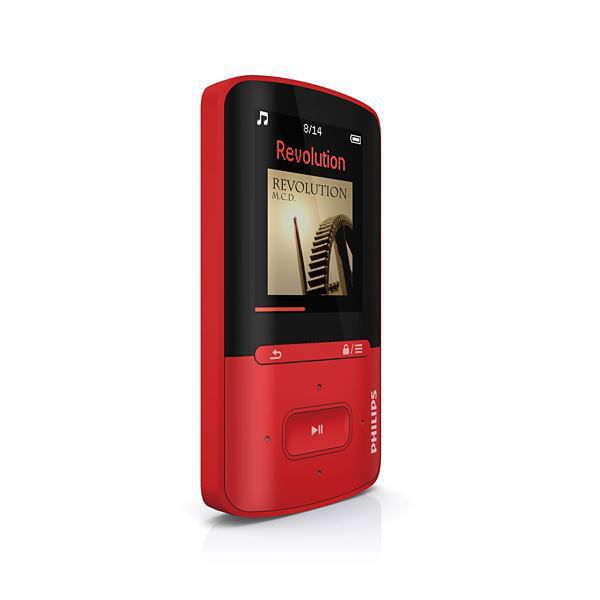 Ver MP4 PHILIPS GOGEAR 4GB ROJO