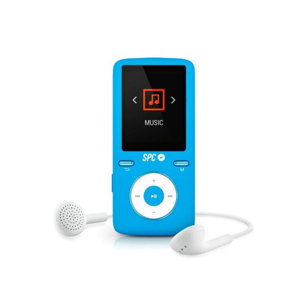 Ver MP4 SPC INTERNETBOOK SOUND COLOUR 2 8GB 1 8 AZUL