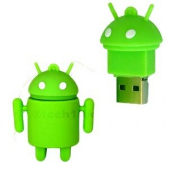 Pen Drive 4gb Fig Android Verde