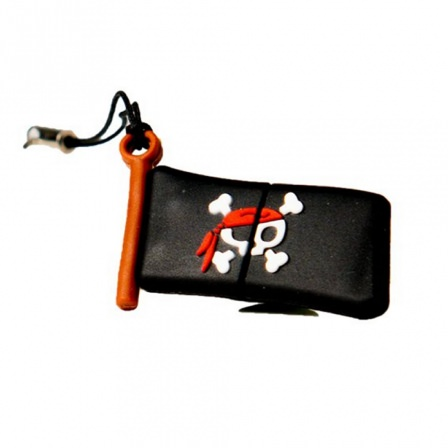 Ver PEN DRIVE FIG16GB BANDERA PIRATA