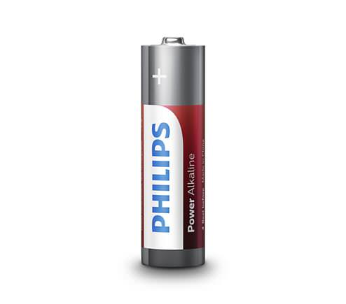 Pilas Philips Alcalina Power Aa Pack 4u