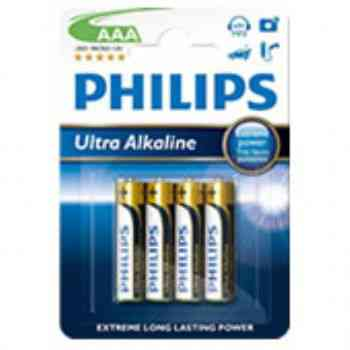 Pilas Philips Alcalina Power Aaa Pack 4u