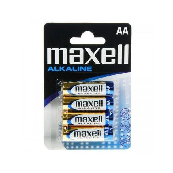 Pilas Maxell Alcalina Aa Lr06 Pack 4u