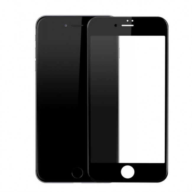 PROTECTOR CRISTAL TEMPLADO CS IPHONE 7 PLUS NEGRO