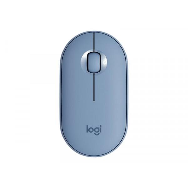 Logitech Wireless Pebble M350 Gris Azulado