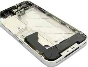 Ver REPUESTO IPHONE 4G CARCASA CENTRAL PLATA  ACCESOR