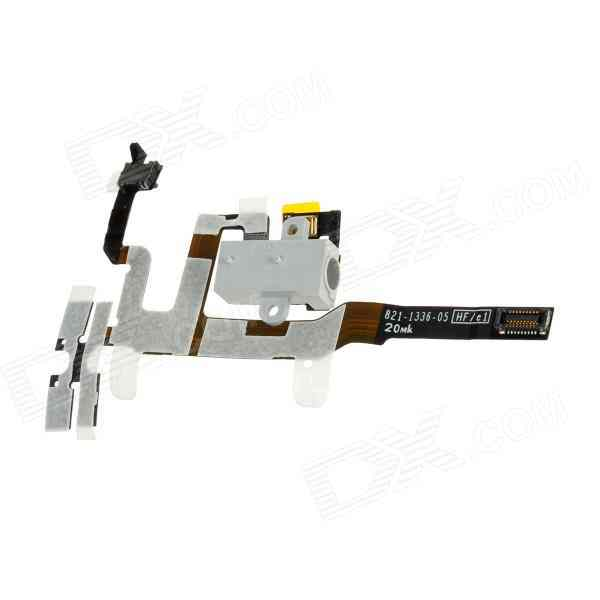 Repuesto Iphone 4s Flex Conector Jack Blanco
