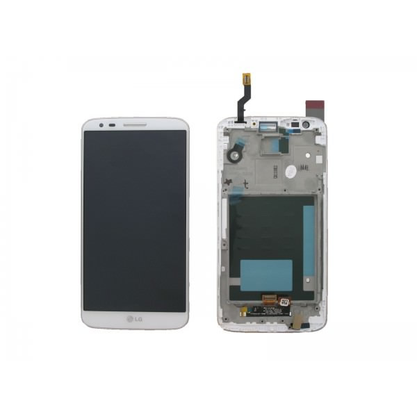 Ver REPUESTO LG G2 D802 LCD TOUCH BLANCO