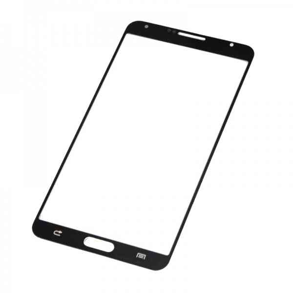 Repuesto Samgalaxy Note 3 Cristal Frontal Negro
