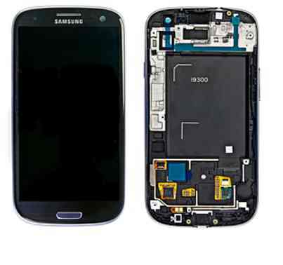 Repuesto Samgalaxy S3 Lcd Touch Azul