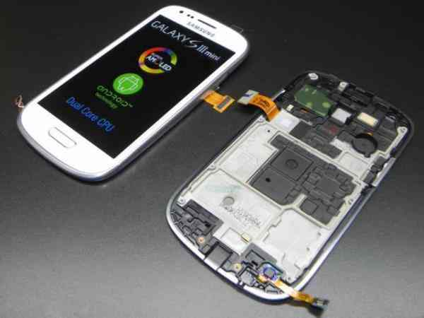 Repuesto Samgalaxy S3 Mini Lcd Touch Blanco Origi