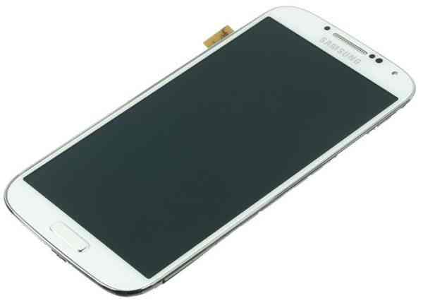 Repuesto Samgalaxy S4 I9505 Lcd Touch Frame Blan