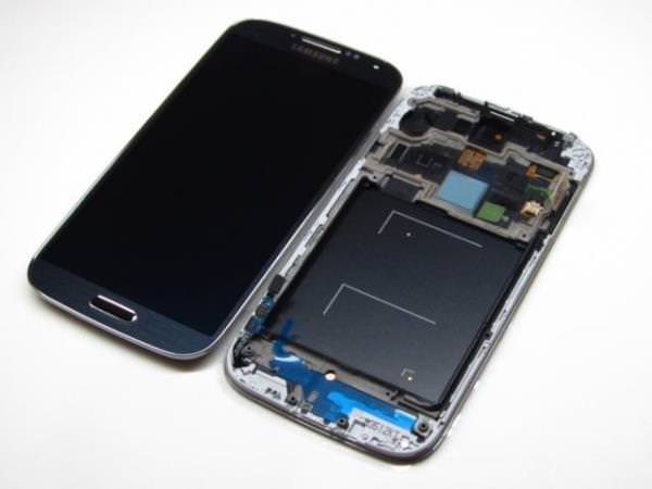 REPUESTO SAMGALAXY S4 I9505 LCD TOUCH FRAME NEGRO