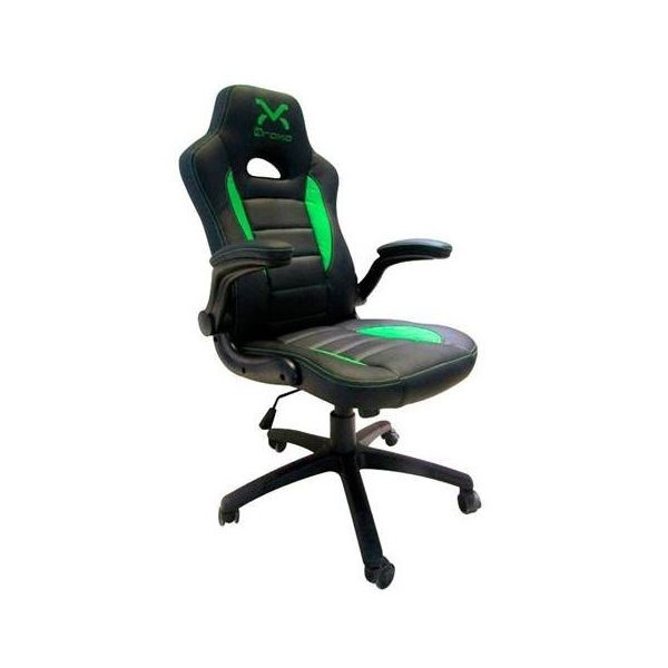 Silla Gaming Droxio Troun Value Negra Verde