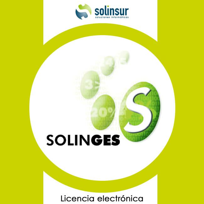 Ver SOFTWARE SOLINGES LICENCIA ELECTRO GESTION FACTUR