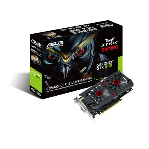 Ver ASUS STRIX GTX950 DC2OC 2GD5 GAMING