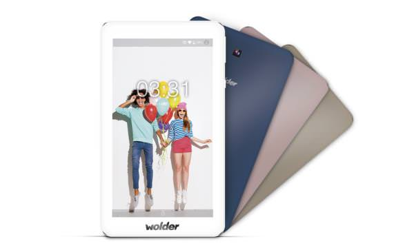 Ver WOLDER 7 COLORS IPS BT QC13