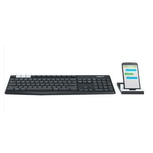 Ver TECLADO LOGITECH BLUETOOTH K375S MULTI DISPOSITIVO