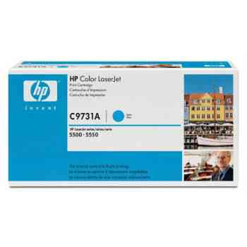 Toner Hp C9731a Lj Color 5500 Cian 12000 Pag