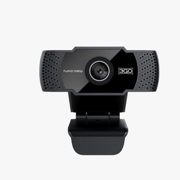Webcam Fhd 3go Viewplus 1080p Usb