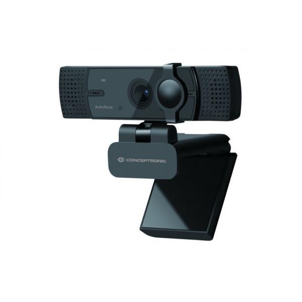 Webcam Ultrahd Conceptronic Usb 4k Dual Micro