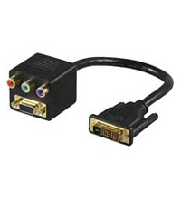 Adaptador Video Dvi-m A Rgb S-vga