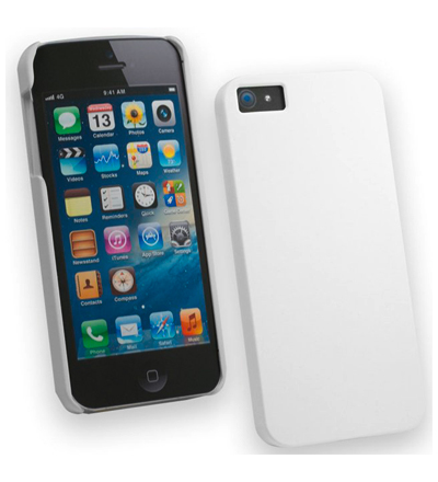 Apple Carcasa Iphone 5  Tpu  Blanco Arena