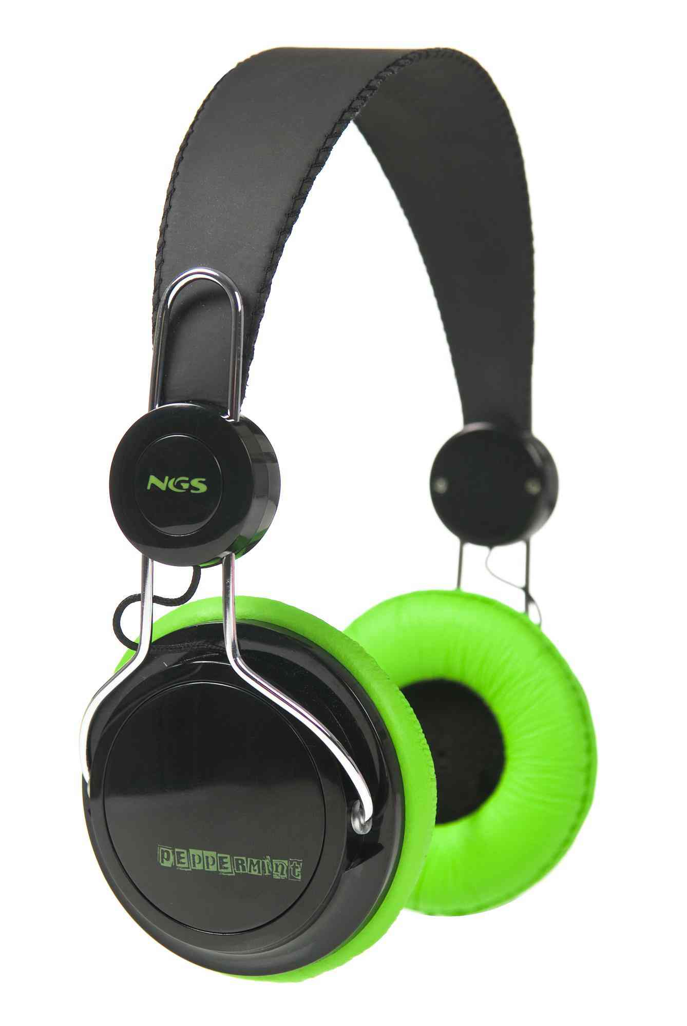 Auriculares Ngs Peppermint Negroverde