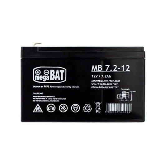 Bateria Phasak 7 2a12v Acidoplomo Bat 207