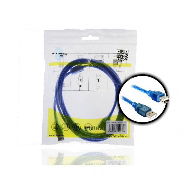 Ver CABLE EXTENSOR USB 2 0 2M KL TECH