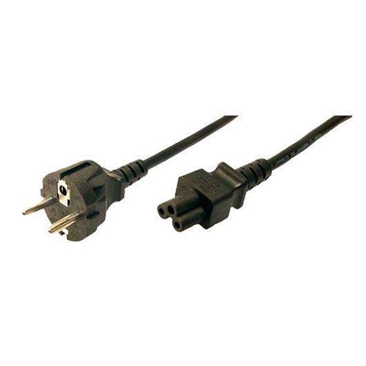 Cable Alimentacion Tipo Trebol 1 8m Logilink Cp093