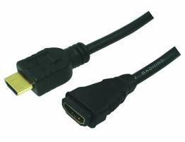 CABLE HDMI M A HDMI H EXTENSOR 5M LOGILINK ETHERN