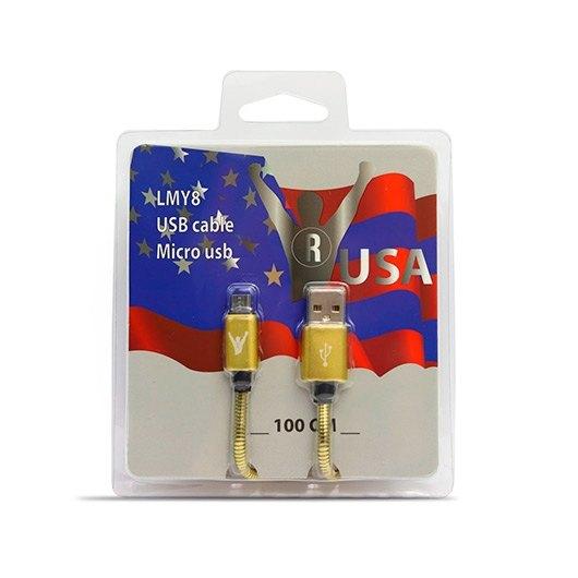 CABLE USB A A MICRO USB B LEADERINMY LMY8
