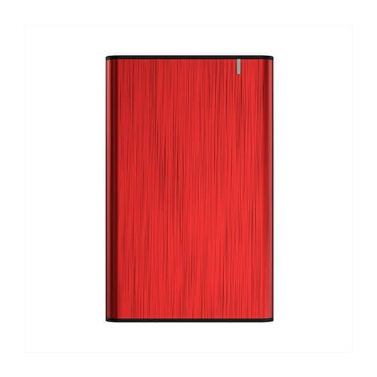 Caja Externa 2 5 Usb3 1 Sata Aisens Aluminio Rojo Usb 30