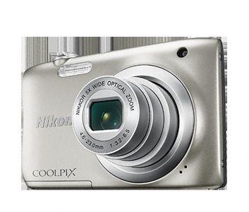 Nikon Coolpix A100 Plata Palo Selfie