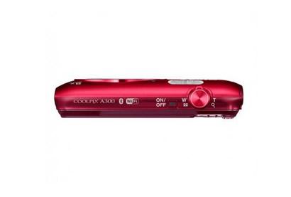 Camara Nikon Coolpix A300 Roja