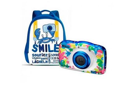 Camara Nikon Coolpix W100 Marina Mochila