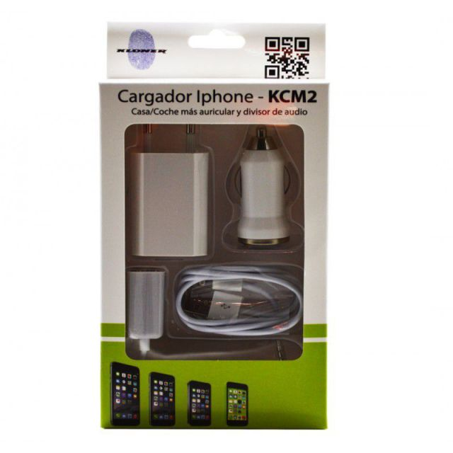 Ver CARGADOR KL TECH COCHEMECHERO APPLE IPHONE 56