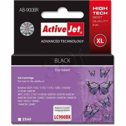 Ver CARTUCHO COMP ACTIVEJET BROTHER LC900 BLACK