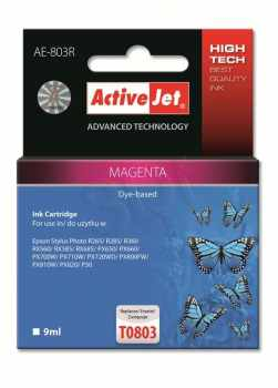 Ver ACTIVEJET EPSON T0803 MAGENTA
