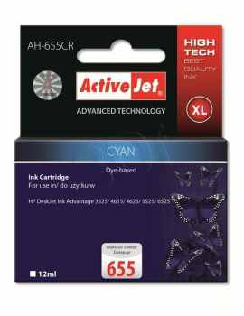 Ver CARTUCHO COMP ACTIVEJET HP 655 XL CYAN