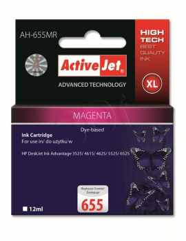 Ver CARTUCHO COMP ACTIVEJET HP 655 XL MAGENTA