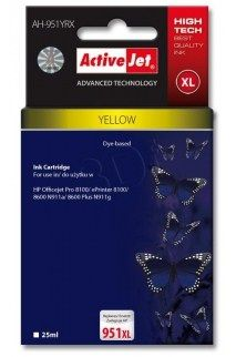 Ver CARTUCHO COMP ACTIVEJET HP 951XL AMARILLO