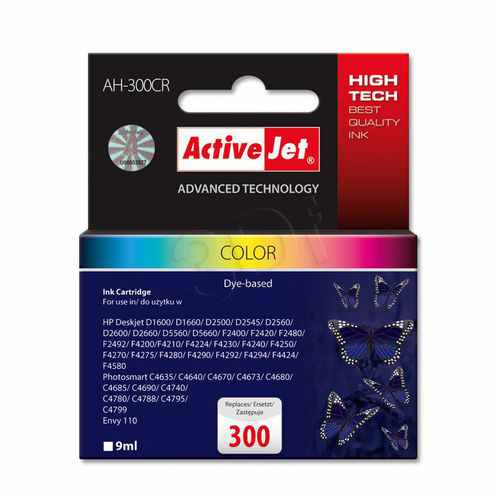 Ver CARTUCHO COMP ACTIVEJET HP N300 COLOR