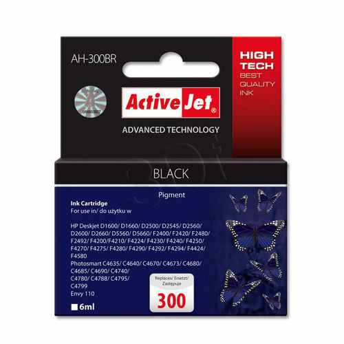 Cartucho Comp Activejet Hp N300 Negro