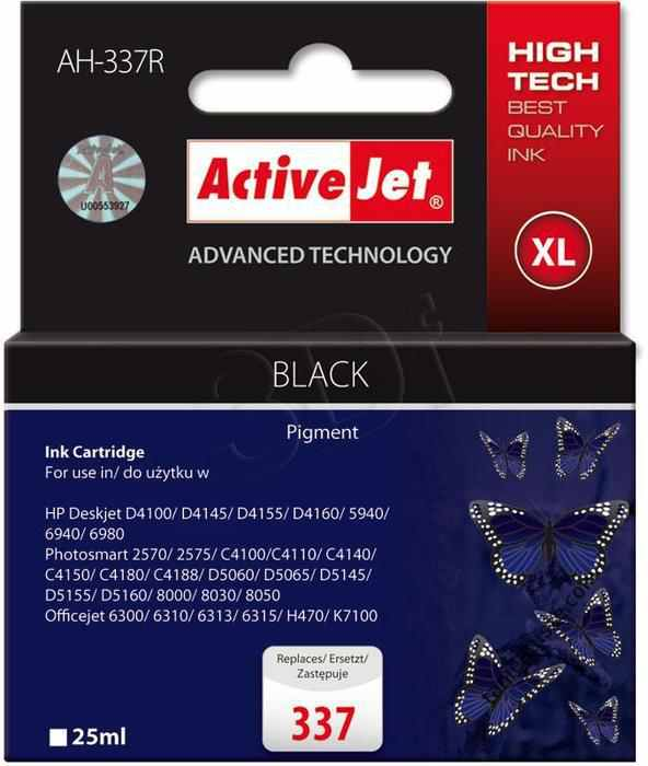 Cartucho Comp Activejet Hp N337 C9364ee Negro
