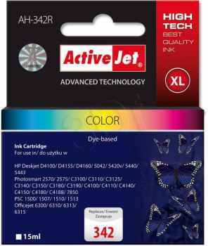 Cartucho Comp Activejet Hp N342 Color