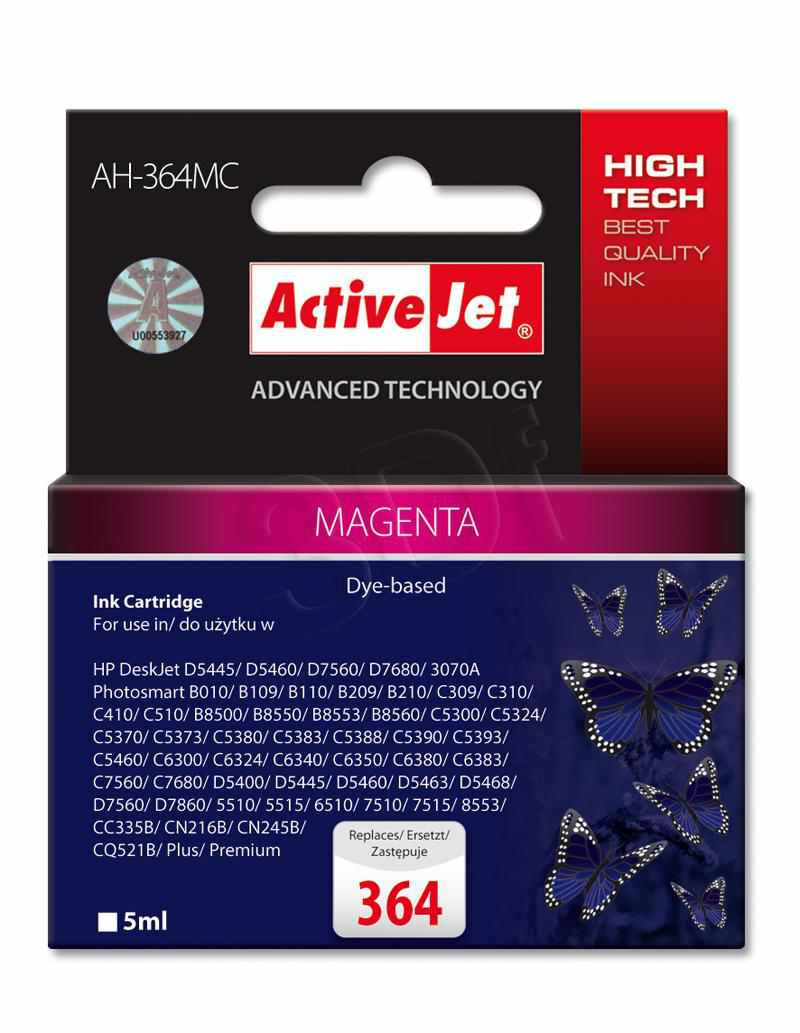 Ver CARTUCHO COMP ACTIVEJET HP N364 MAGENTA