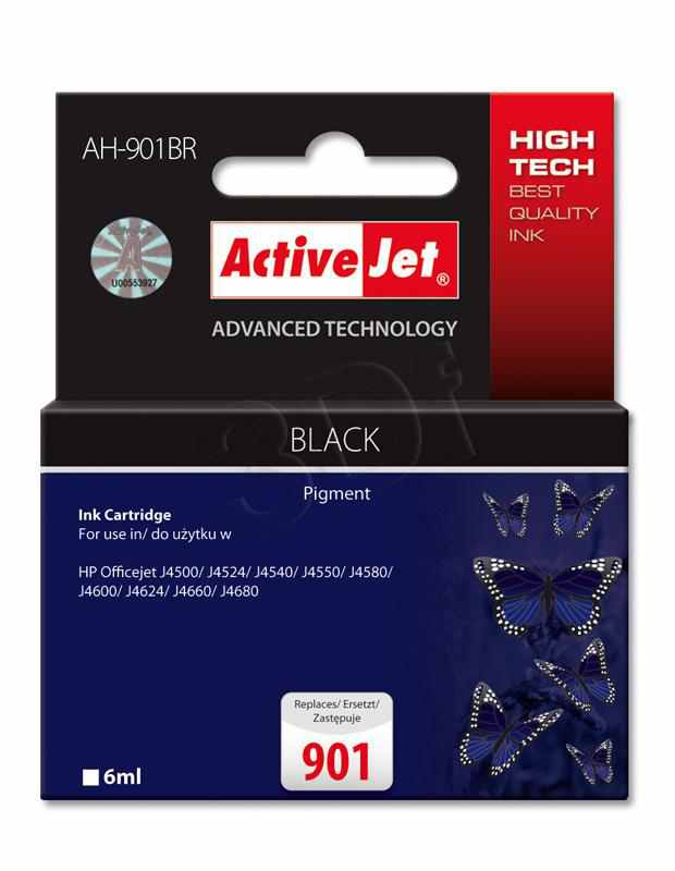 Cartucho Comp Activejet Hp N901 Negro