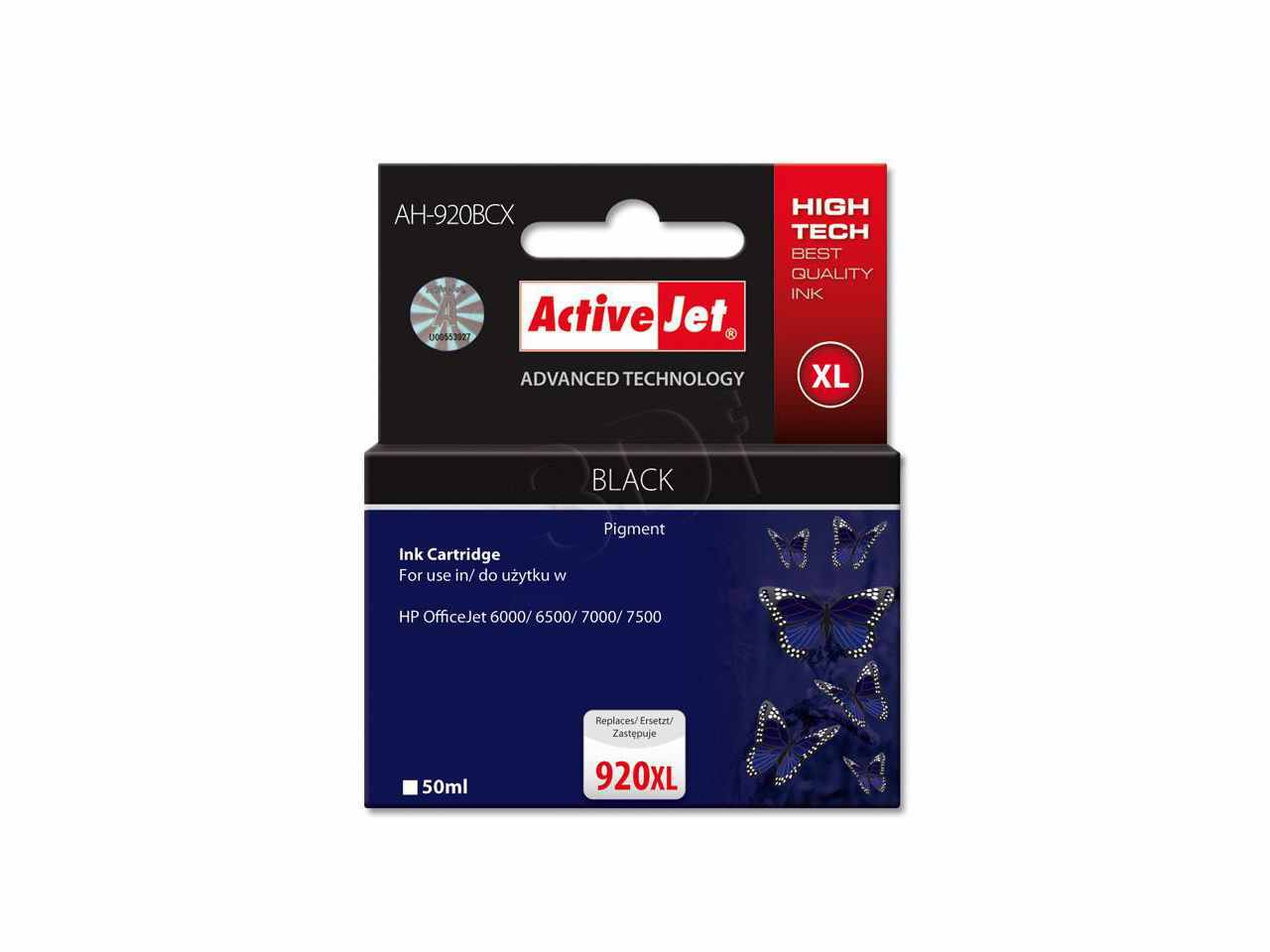 Ver CARTUCHO COMP ACTIVEJET HP N920XL CD971AE BLACK